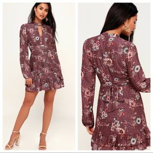 Lost and Wander Sundance Floral Dress NEW